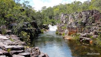 Goias - Chapada dos Veadeiros - Fazenda Sao Bento - Cachoeira Almecegas I