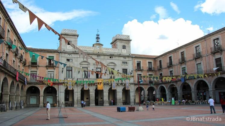 Espanha - Avila - Plaza Mercado Chico