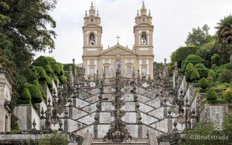 Portugal - Braga - Santuario do Bom Jesus do Monte