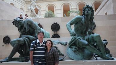 Franca - Paris - Museu do Louvre - Esculturas Francesas