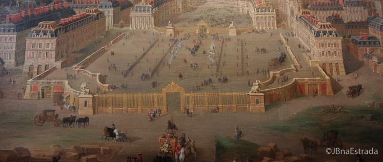 Franca-Paris-Palacio-de-Versailles-Antigamente