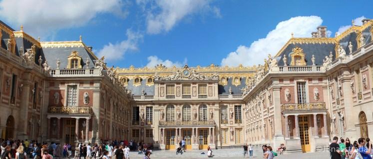 Franca - Paris - Palacio de Versailles Fachada