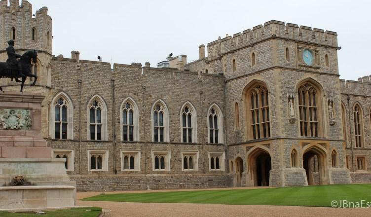 Inglaterra - Windsor - Castelo de Windsor - Residencia da Rainha