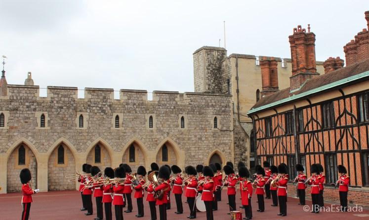 Inglaterra - Londres - Castelo de Windsor - Troca da Guarda