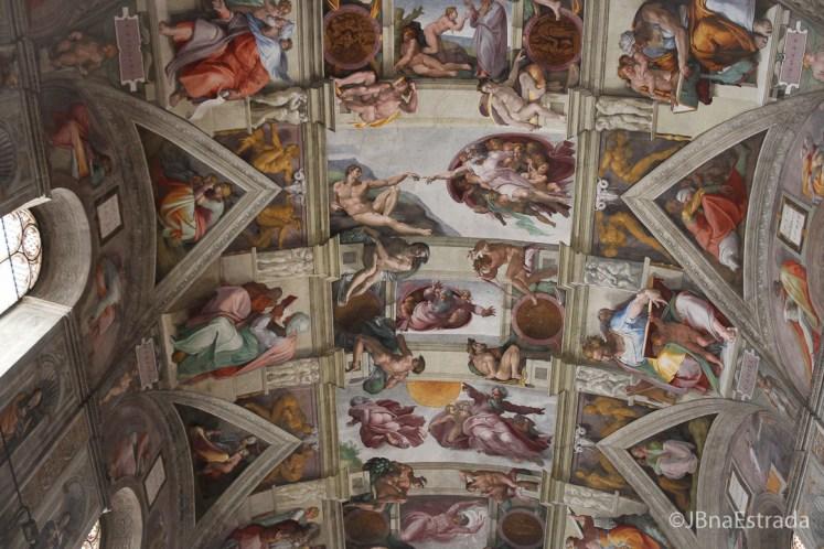 Museus Vaticanos - Capela Sistina - Teto