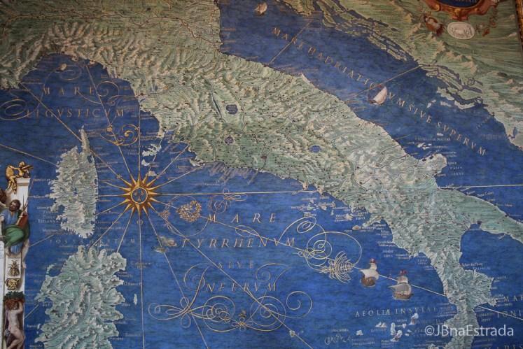 Museus do Vaticano - Galeria dos Mapas - Itália