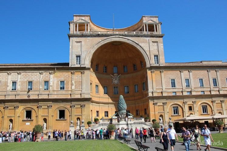 Museus do Vaticano - Jardim da Pinha