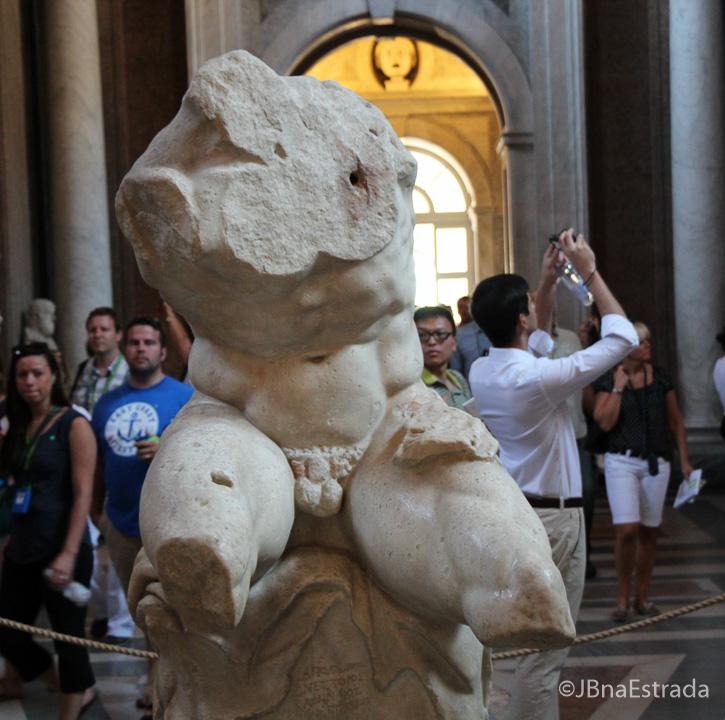 Museus do Vaticano - Museu Pio Clementino - Sala das Musas - Torso Belvedere