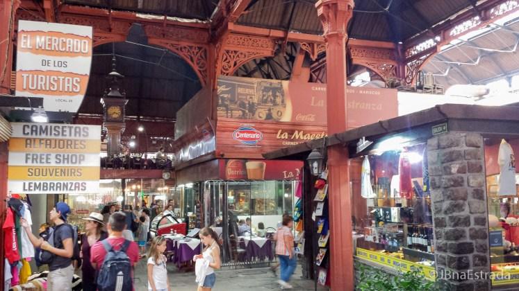 Uruguai - Montevideu - Mercado del Porto