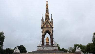 Inglaterra - Londres - Albert Memorial (Parques e Jardins de Londres)