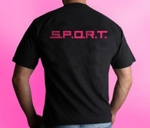 S.P.O.R.T. T-Shirt Rückseite