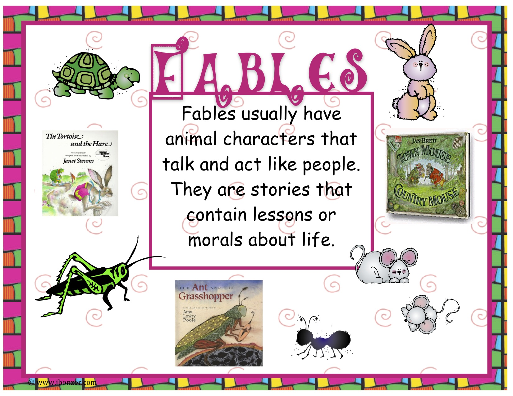 Fable Worksheet Fairy Tales Folktales And Fables Common