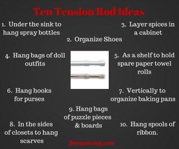 Ten Tension Rod Ideas