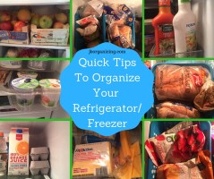 Quick TipsTo OrganizeYour Refrigerator (1)