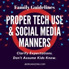 Social Media Manners