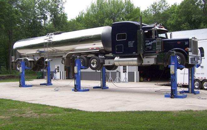 Liftmaster ravaglioli mobile column lifts news for Garage mobile per auto