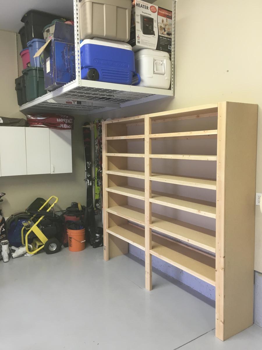 Photo Gallery Custom Garage Shelving JB Shelving
