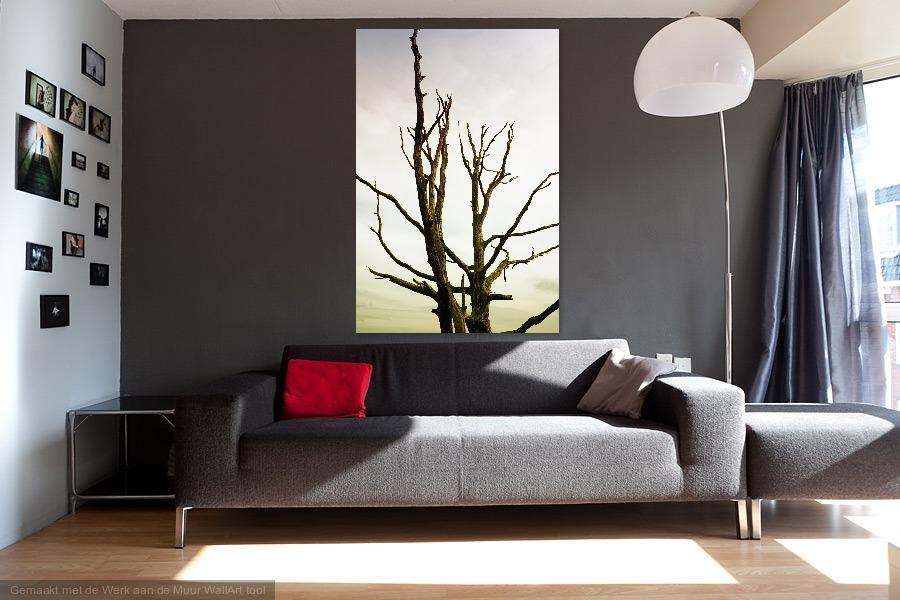Macabre leafless tree - Werk aan de Muur