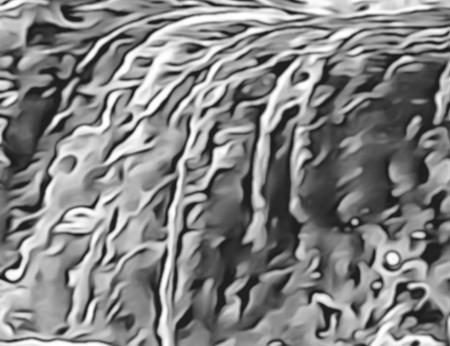 Sea Waves Abstract