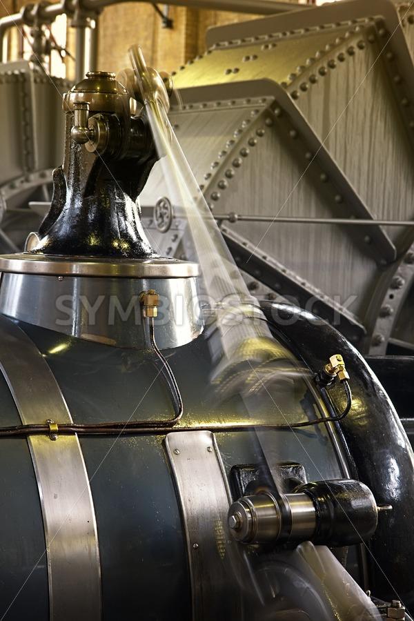 Woudagemaal steam engine. - Jan Brons Stock Images