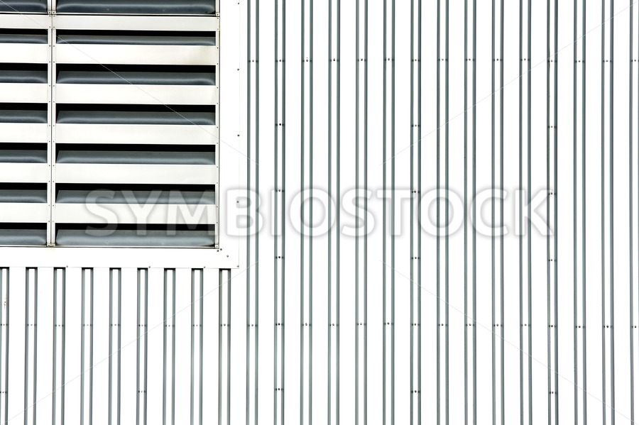 Open air grating - Jan Brons Stock Images