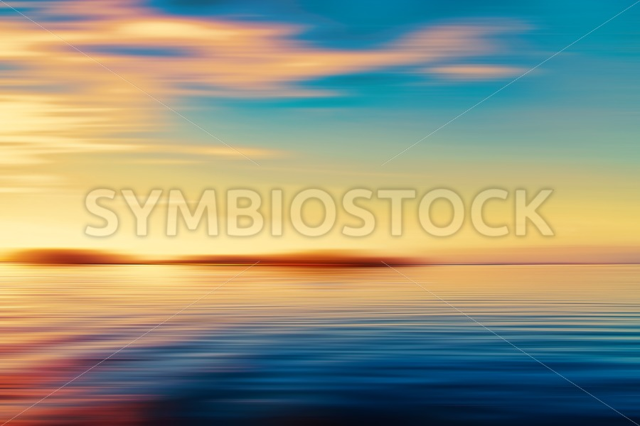 Sunset Seascape Island - Jan Brons Stock Images