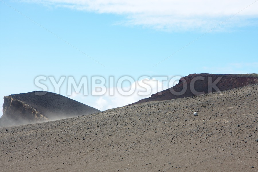 Steep lava hill - Jan Brons Stock Images