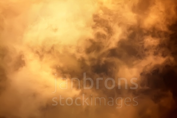 Inside cloud flames