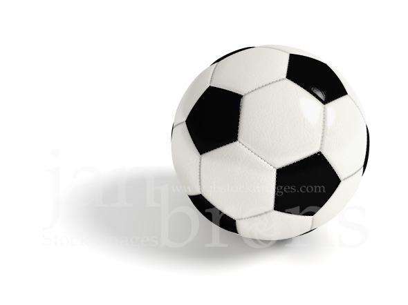Stock Image: Soccer Ball.