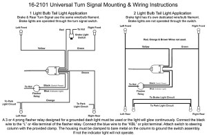 Column Mounted Universal Turn Signal Switch: VW Parts