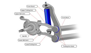VW Bug Steering & Suspension Parts 19691977: VW Parts