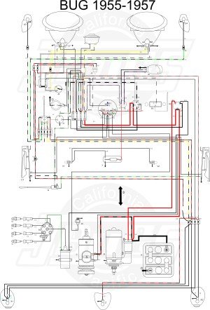 VW Tech Article 195557 Wiring Diagram