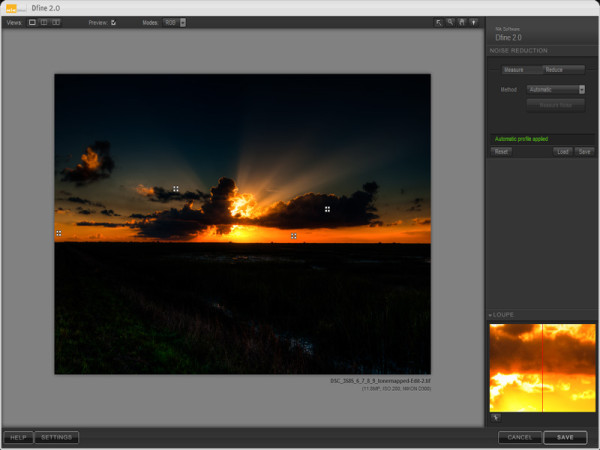 Nik Dfine Screenshot - JC Ruiz Photography