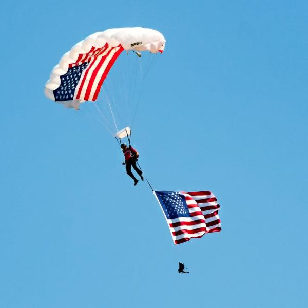 Lucas Oil Parachute Team
