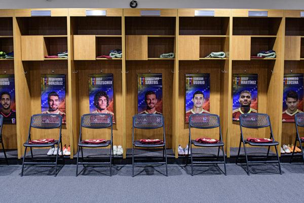 Venezuela locker room
