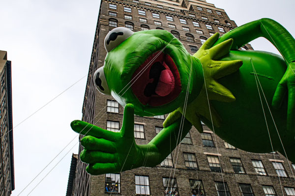 kermit the frog macys thanksgiving day parade
