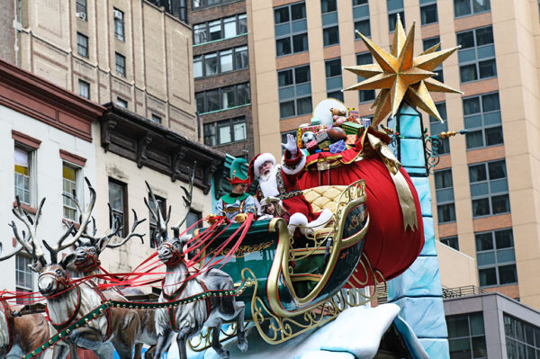 Santa Claus macys thanksgiving day parade