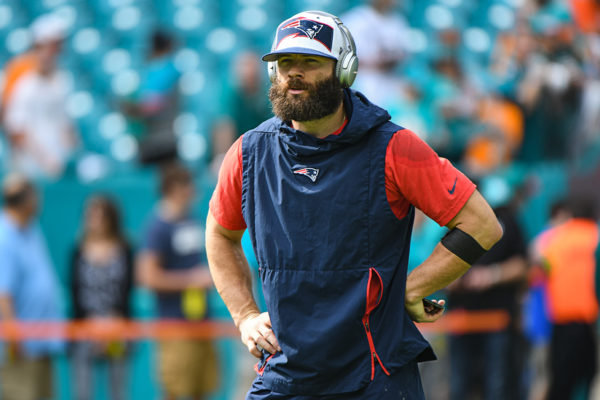 New England Patriots wide receiver Julian Edelman (11)