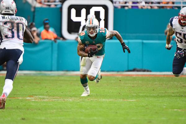 Miami Dolphins wide receiver Kenny Stills (10)