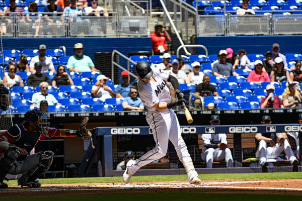Miami Marlins third baseman Brian Anderson #15