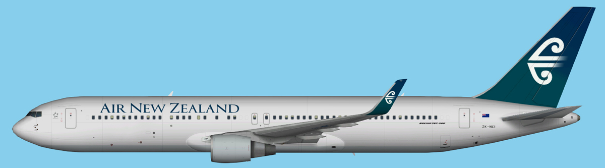 Air New Zealand Boeing 767-300 Winglets FSX