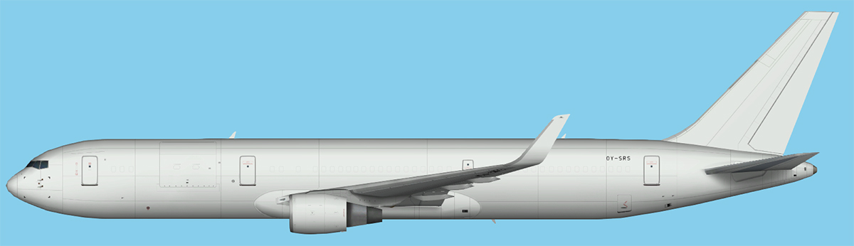 Star Air Boeing 767-300 Winglets FSX
