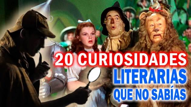 20 curiosidades literarias que no sabías