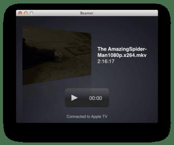 Beamer - apple tv streaming 1080p