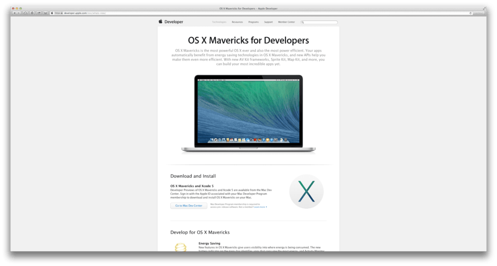 Créer un disque USB Bootable de MAC OS X Mavericks Installer OS X 10.9 Developer Preview