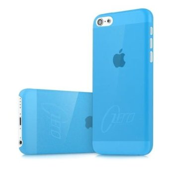 iPhone 5C etui bleu