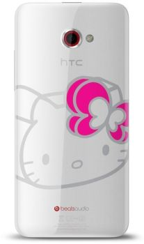 HTC Butterfly S Hello Kitty coque