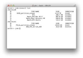 dual boot mac linux