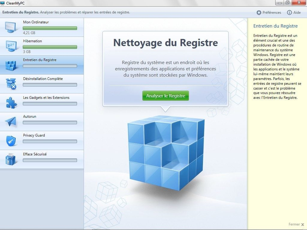 nettoyer windows nettoyer registre windows 8