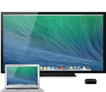 apple tv second affichage
